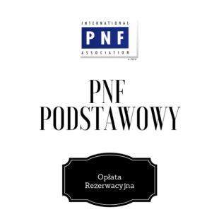 PNF Podstawowy Opłata Rezerwacyjna